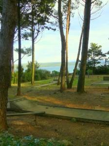 Mini golf igrisce v naselju